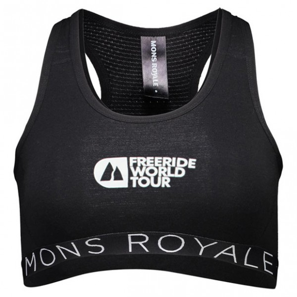 Mons Royale - Women's Sierra Sports Bra FWT - Urheilurintaliivi