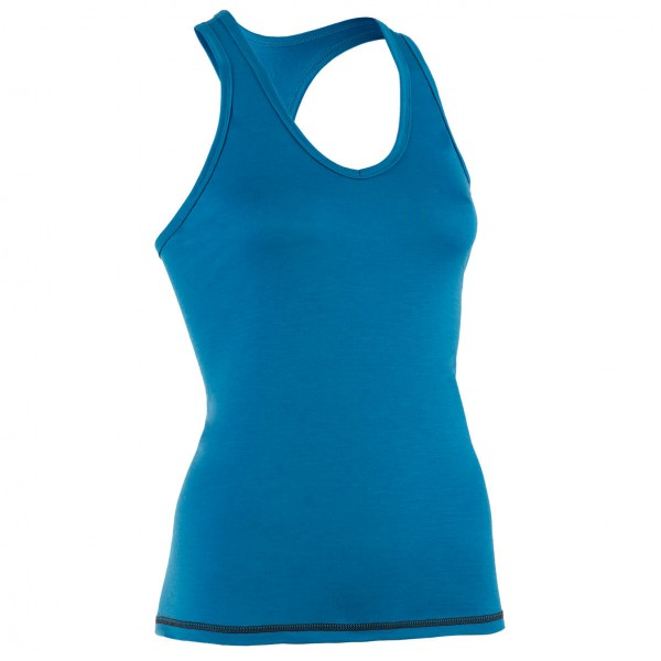Women's Top mit Ringerrcken - Merino base layer