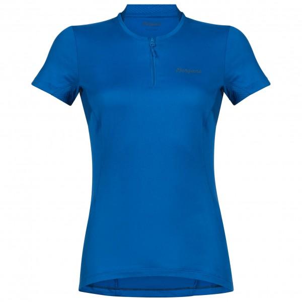 Bergans - Women's Fløyen Half Zip S/S - T-Shirt