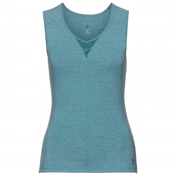 Odlo - Women's V-Neck Tank Natural + X-Light - Tekokuitualusvaatteet
