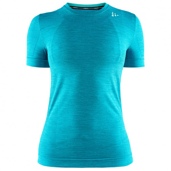 Craft - Women's Fuseknit Comfort RN S/S - Synthetic base layer