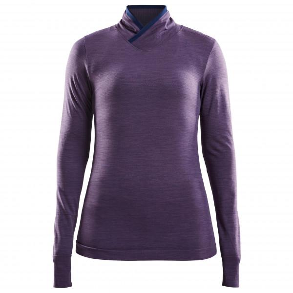 Craft - Women's Fuseknitcomfort Wrap L/S - Underkläder syntet