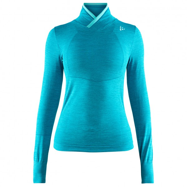 Craft - Women's Fuseknitcomfort Wrap L/S - Synthetic base layer
