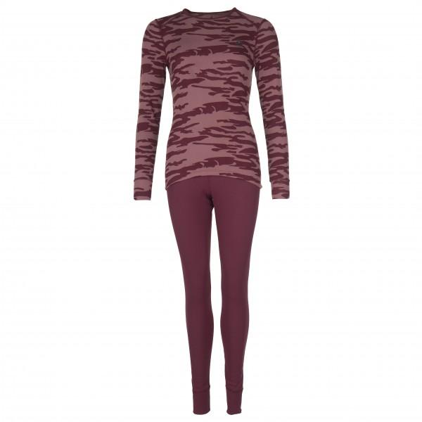 Odlo - Women's Set Warm God Jul - Syntetisk undertøj