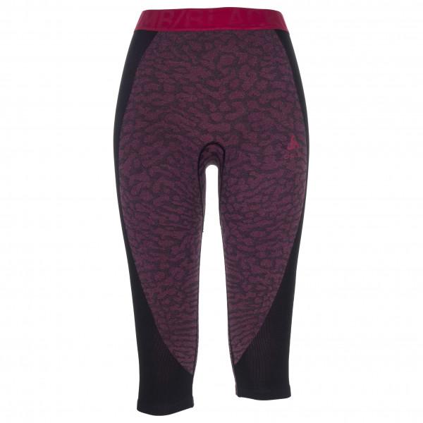 Odlo - Women's Suw Bottom Pant 3/4 Performance Blackcom - Synthetic base layer