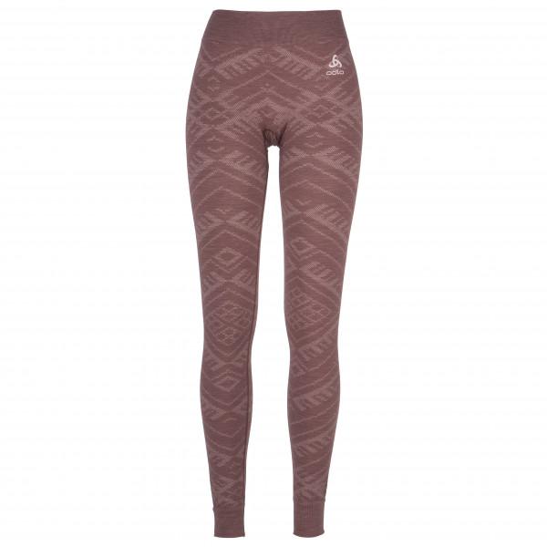 Odlo - Women's Suw Bottom Pant Natural + Kinship Warm - Sous-vêtement synthétique