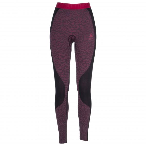 Odlo - Women's Suw Bottom Pant Performance Blackcomb - Kunstfaserunterwäsche