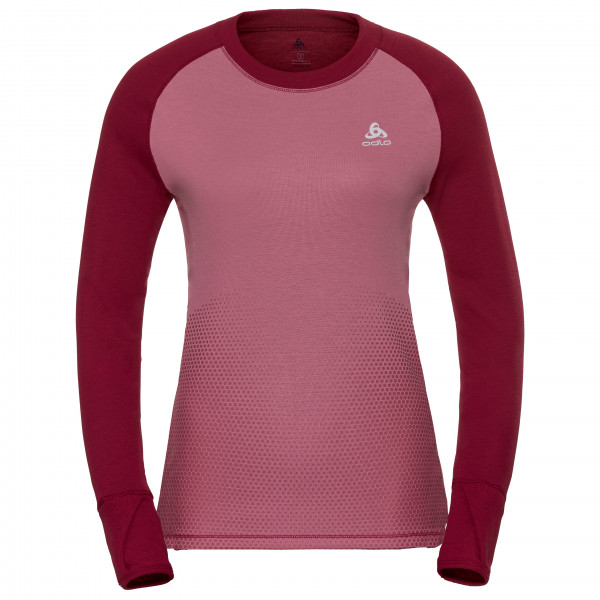 Odlo - Women's Suw Top Crew Neck L/S Active Revelstoke - Int