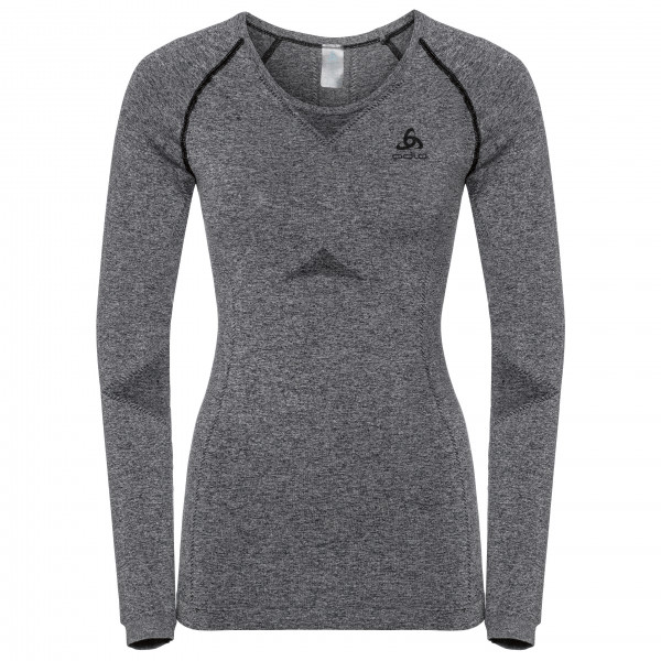 Odlo - Women's Suw Top Crew Neck L/S Performance Light - Synthetic base layer