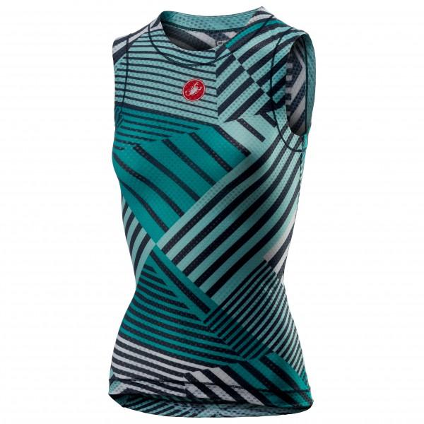 Castelli - Women's Pro Mesh 2 Sleeveless - Cykelundertrøje
