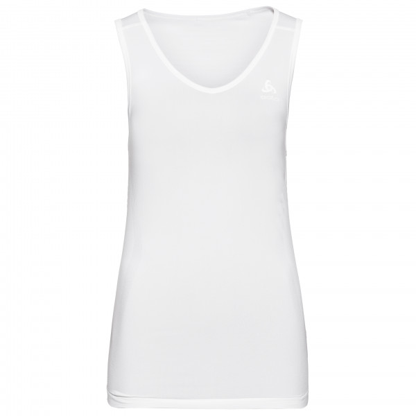 Odlo - Women's SUW Top V-Neck Singlet Performance X-Light - Tekokuitualusvaatteet