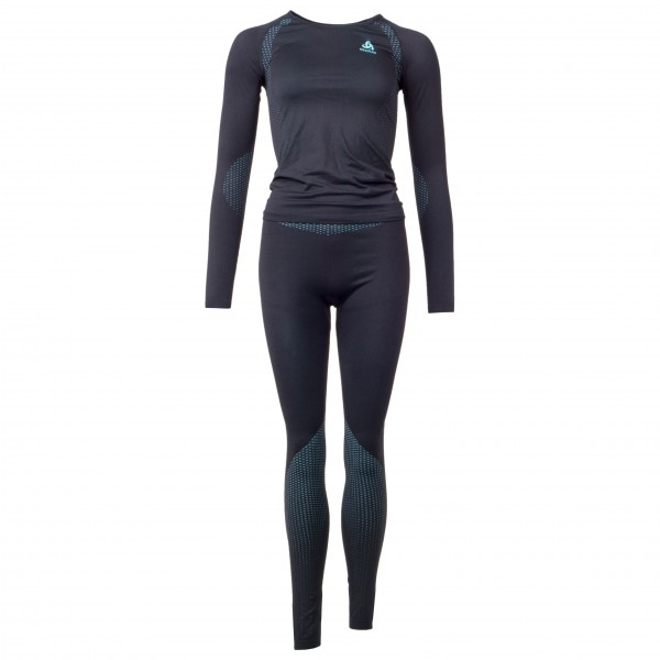 Odlo - Women's Set Long Performance Essentials Light - Underkläder syntet