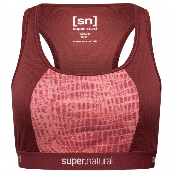 SuperNatural - Women's Yoga Bustier Printed - Sport-BH