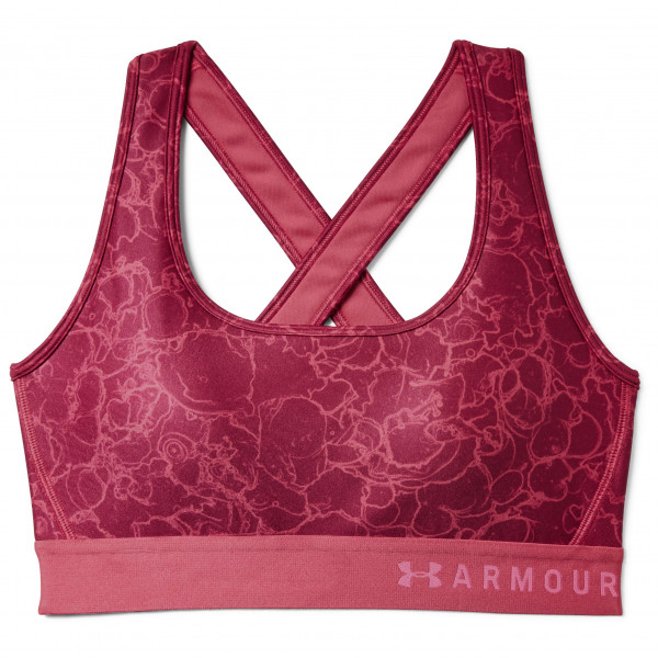 Under Armour - Women's Armour Mid Crossback Printed Bra - Sports bra