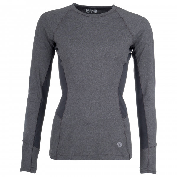 Mountain Hardwear - Women's Ghee Long Sleeve Crew - Syntetisk undertøy