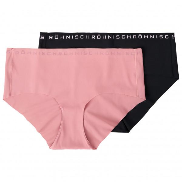 Röhnisch - Women's Siena 2-Pack Hipster - Syntetisk undertøj