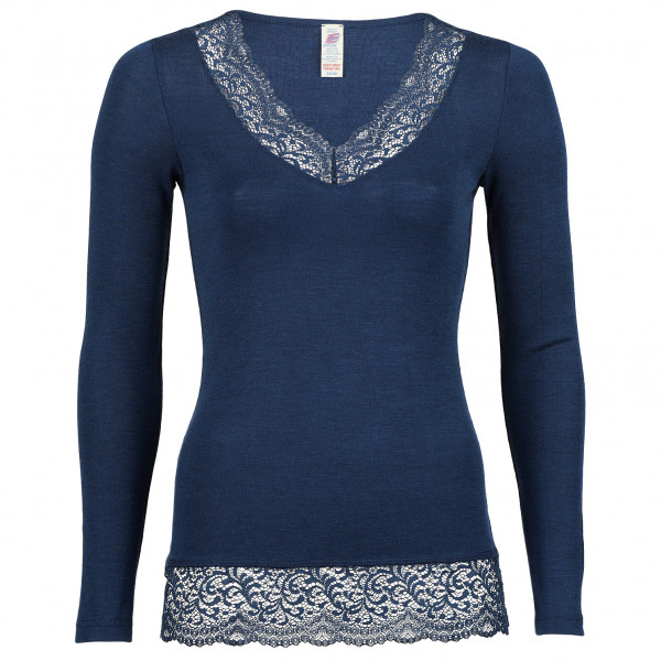 Engel - Women's Shirt L/S mit Spitze - Silk base layer