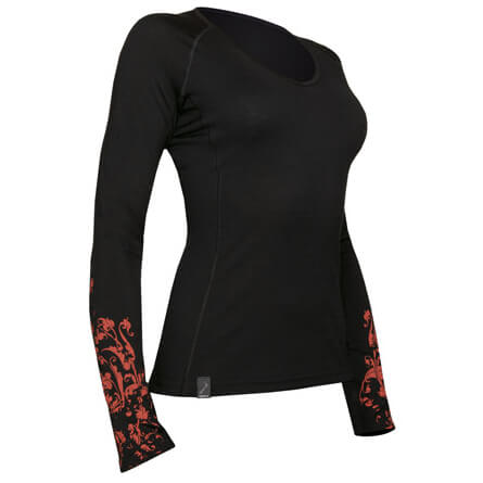 Icebreaker - Women's Bodyfit 200 Lightweight Oasis V Fleur