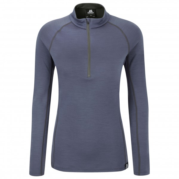 Mountain Equipment - Women's Matrix 190 Zip Tee - Merinovilla-alusvaatteet