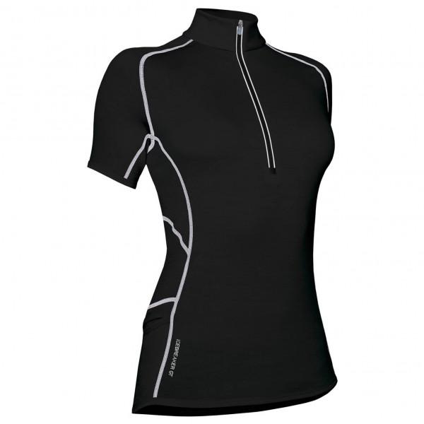 Icebreaker - Women's GT150 Ultralite S/S Dash Zip - T-Shirt