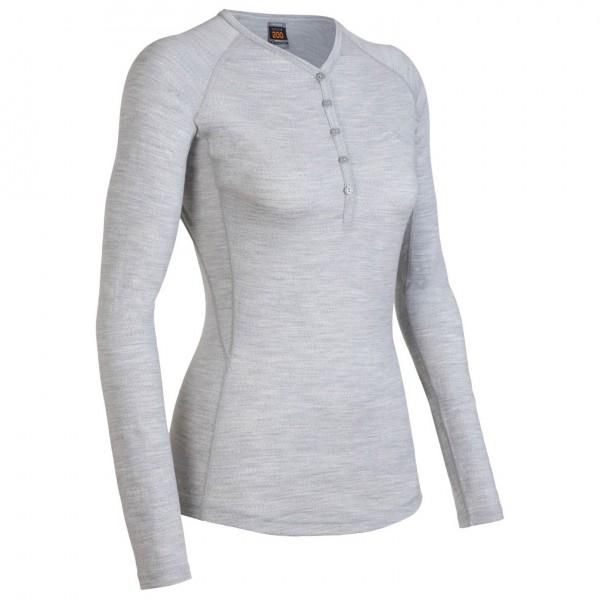 Icebreaker - Women's Bodyfit 200 Oasis Henley - Longsleeve