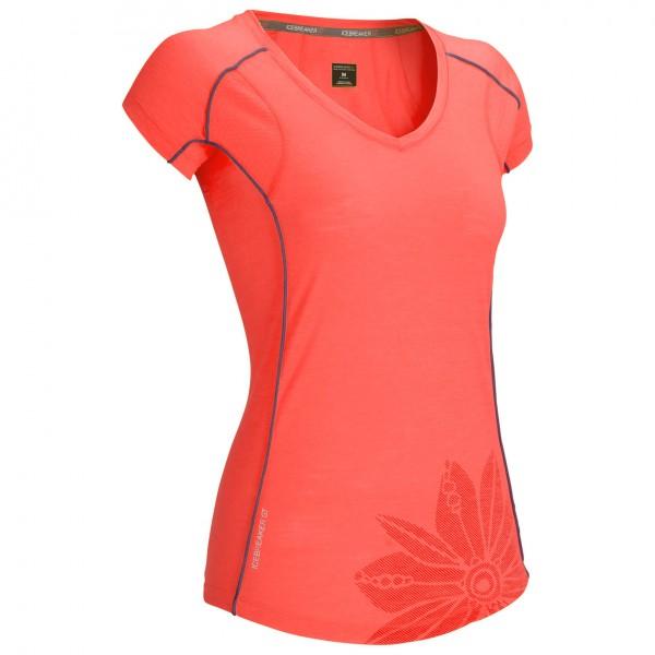 Icebreaker - Women's Flash SS V - Functional shirt
