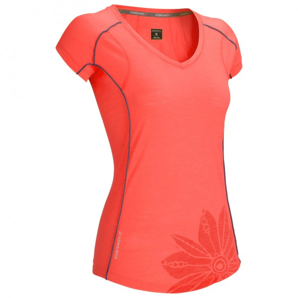 Icebreaker - Women's Flash SS V - T-shirt technique
