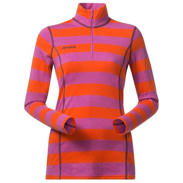 Bergans - Akeleie Lady Half Zip - Merinovilla-alusvaatteet