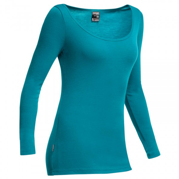 Icebreaker - Women's Everyday LS Scoop - Merino ondergoed