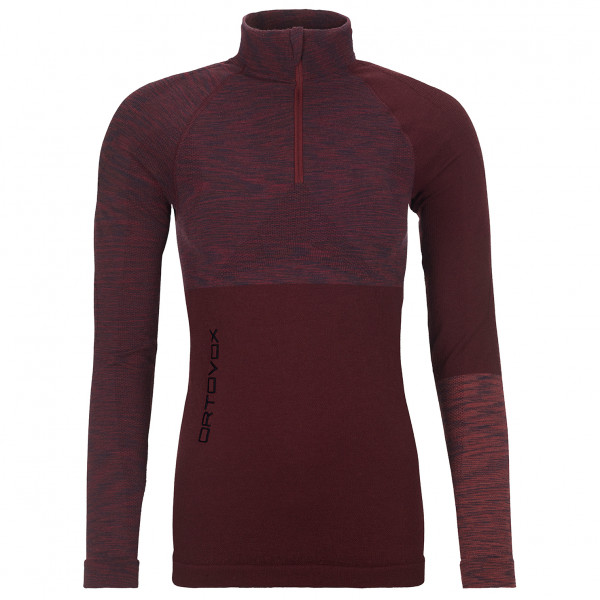 Ortovox - Women's Competition Long Sleeve Zip Neck - Merinovilla-alusvaatteet