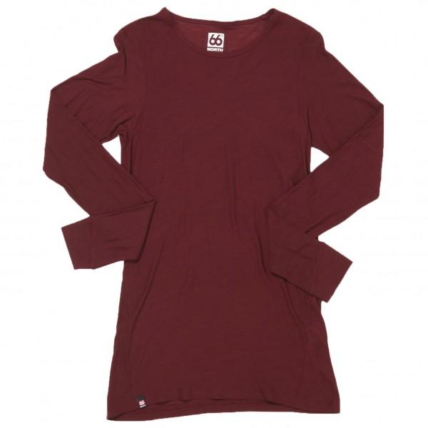 66 North - Women's Skogar Long Sleeve - Merino ondergoed