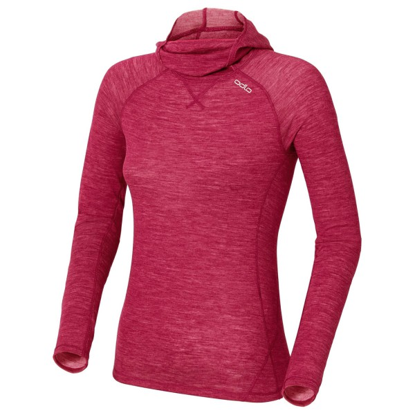 Odlo - Women's Shirt LS With Facemask Revolution Warm