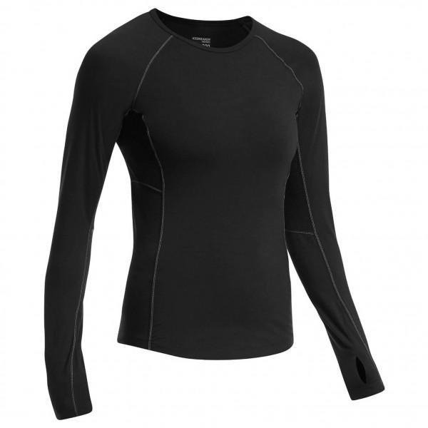 Icebreaker - Women's Zone L/S Crewe - Merino undertøj