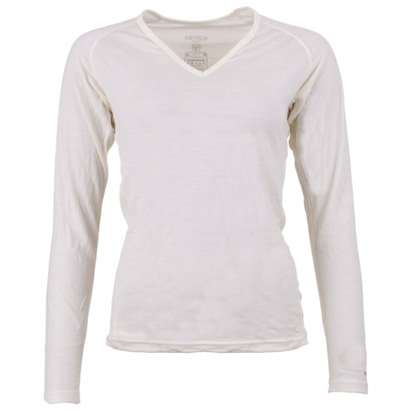 Devold - Breeze Woman V-Neck - Underkläder merinoull