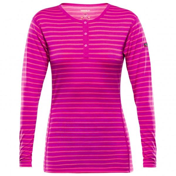 Devold - Breeze Woman Button Shirt - Merinounterwäsche