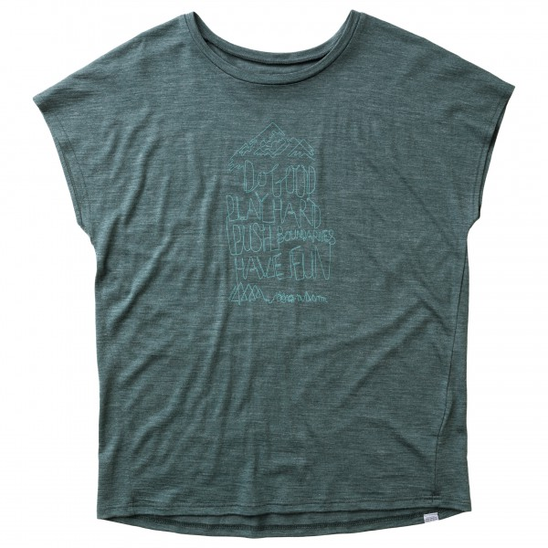 Houdini - Women's Activist Message Tee - Merino base layers