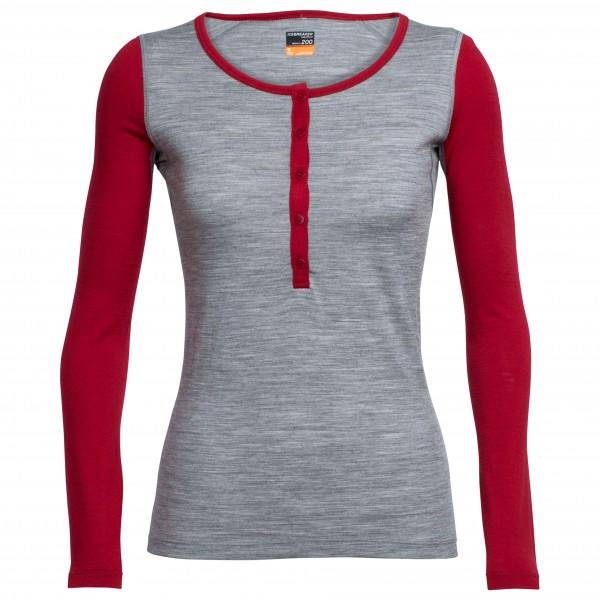 Icebreaker - Women's Oasis L/S Henley - Merino underwear