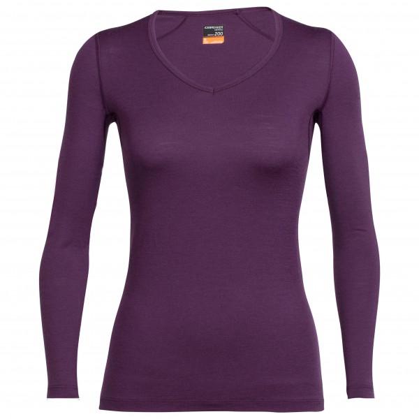 Icebreaker - Women's Oasis L/S V - Merino underwear