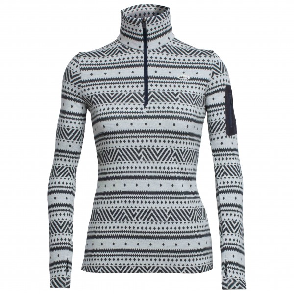 Icebreaker - Women's Vertex L/S Half Zip Icon Fairisle