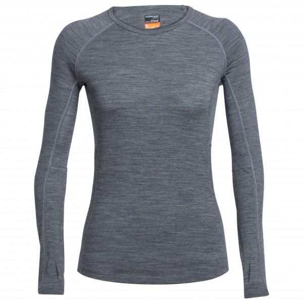 Icebreaker - Women's Zone L/S Crewe - Sous-vêtements en lain