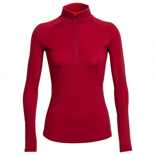 Icebreaker - Women's Zone L/S Half Zip - Merino base layer