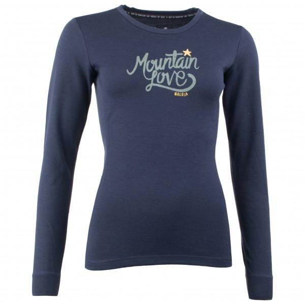 Maloja - Women's ConcordiaM. Long Sleeve - Merino underwear