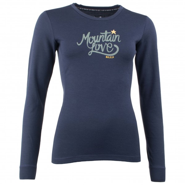 Maloja - Women's ConcordiaM. Long Sleeve - Merinounterwäsche