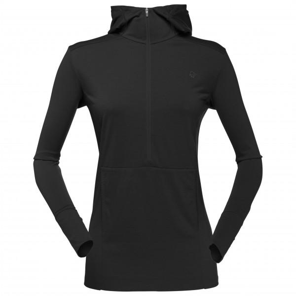 Norrøna - Women's Wool Hoodie - Merinovilla-alusvaatteet