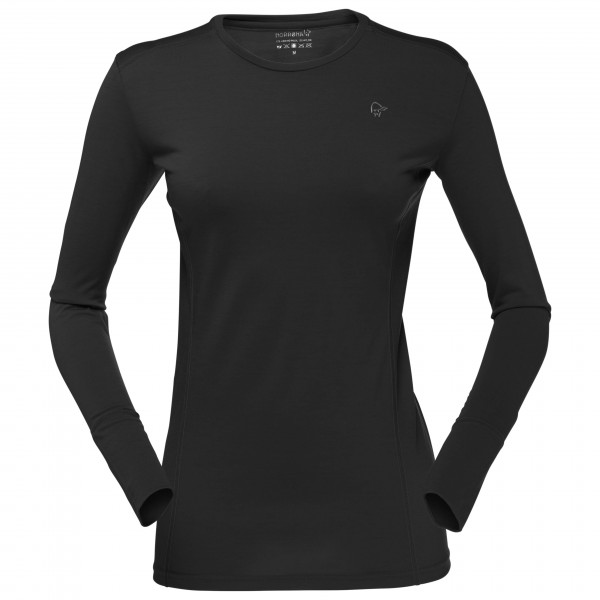Norrøna - Women's Wool Round Neck - Merino ondergoed