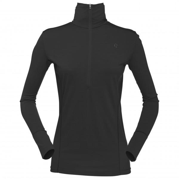 Norrøna - Women's Wool Zip Neck - Merinovilla-alusvaatteet