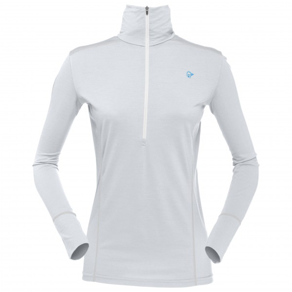 Norrøna - Women's Wool Zip Neck - Merino base layer