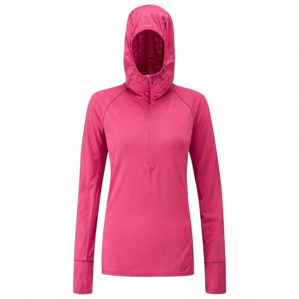 Rab - Women's Merino+ 160 Hoody - Merinovilla-alusvaatteet