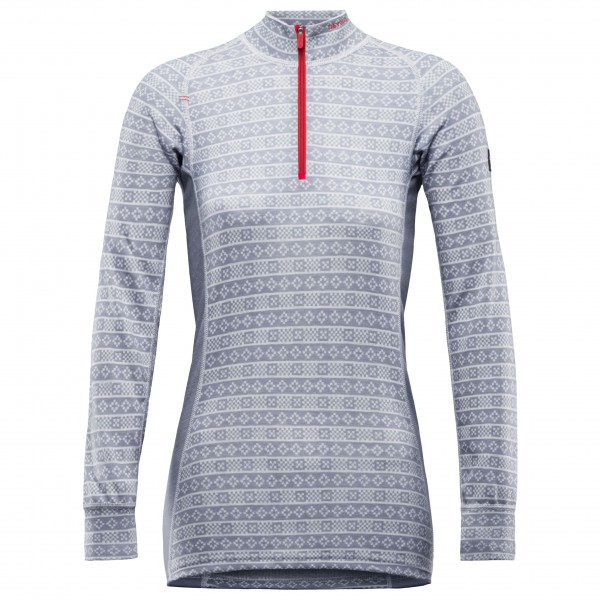 Devold - Alnes Woman Zip Neck - Sous-vêtements en laine méri