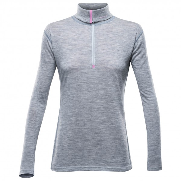 Devold - Breeze Woman Zip Neck - Merinovilla-alusvaatteet